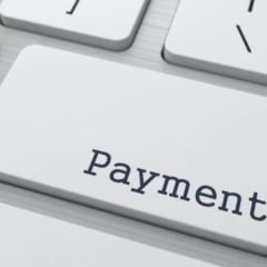 computer keyboard button is payment Card Connect Paradise Clover Merchant Services Charge It Now