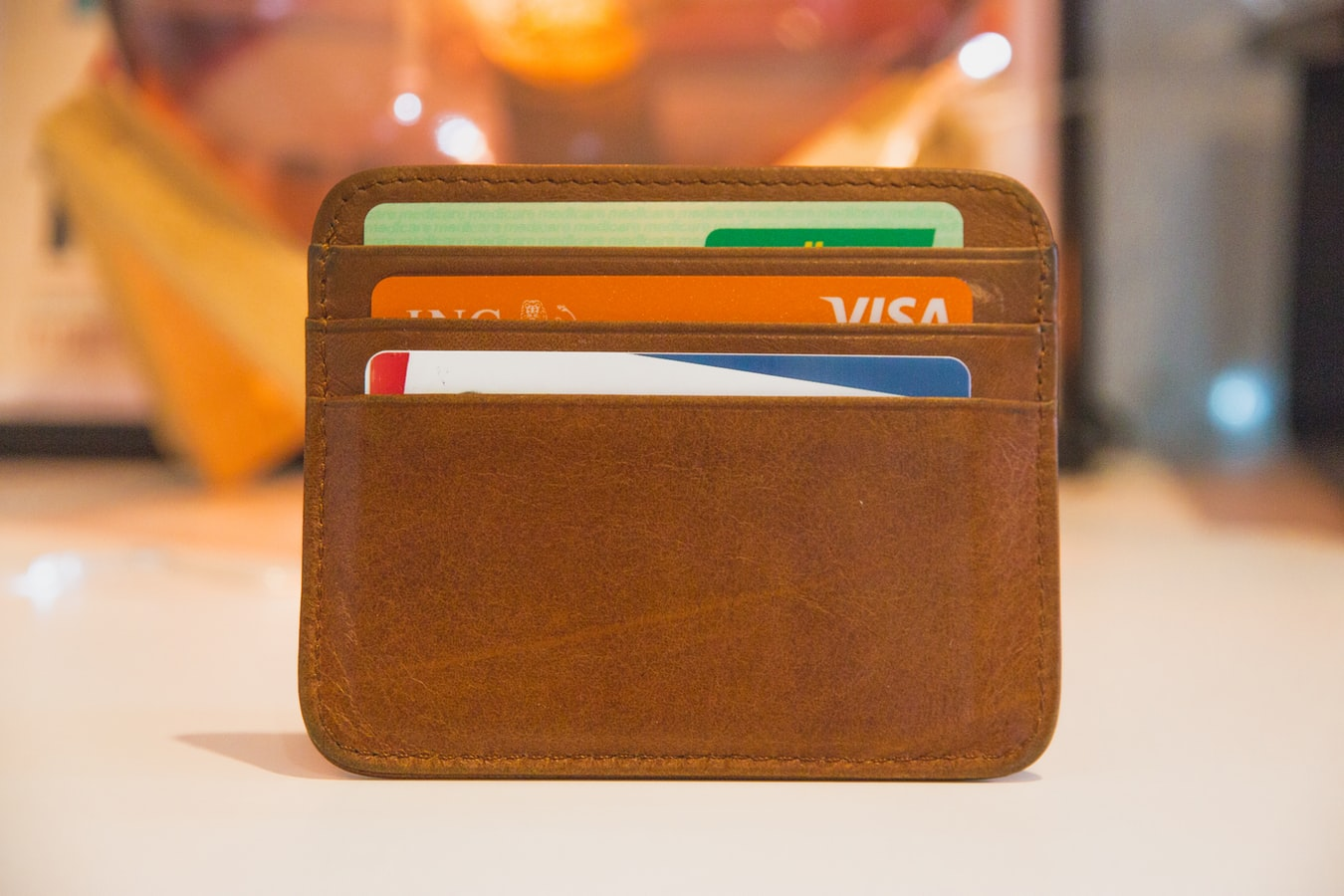 close up of wallet with credit cards in it Card Connect Paradise Clover Merchant Services Charge It Now